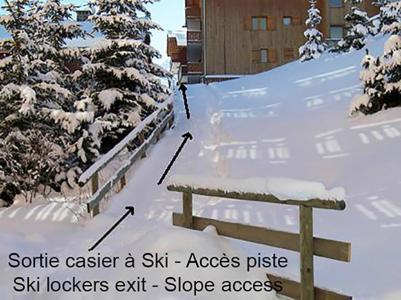 Location au ski Residence Vanoise - Mottaret - Extérieur hiver
