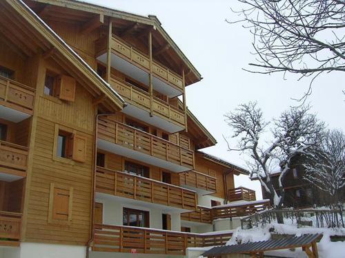 Location au ski Residence  Belles Roches - Notre Dame de Bellecombe - Extérieur hiver