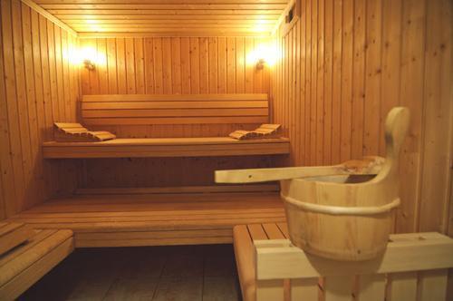 Location au ski Residence  Belles Roches - Notre Dame de Bellecombe - Sauna