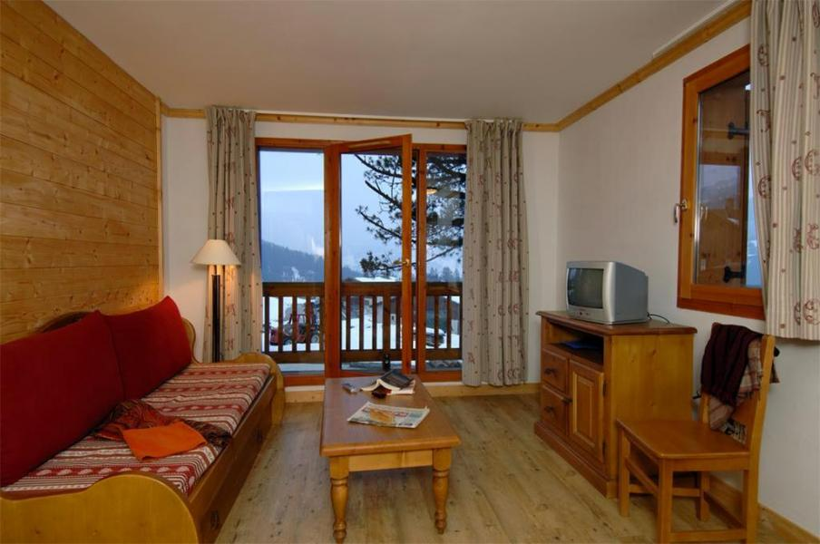 Аренда на лыжном курорте Résidence Belles Roches - Notre Dame de Bellecombe - Салон