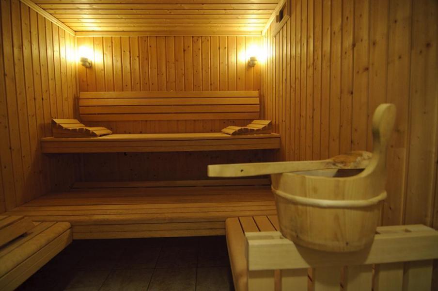 Location au ski Résidence Belles Roches - Notre Dame de Bellecombe - Sauna