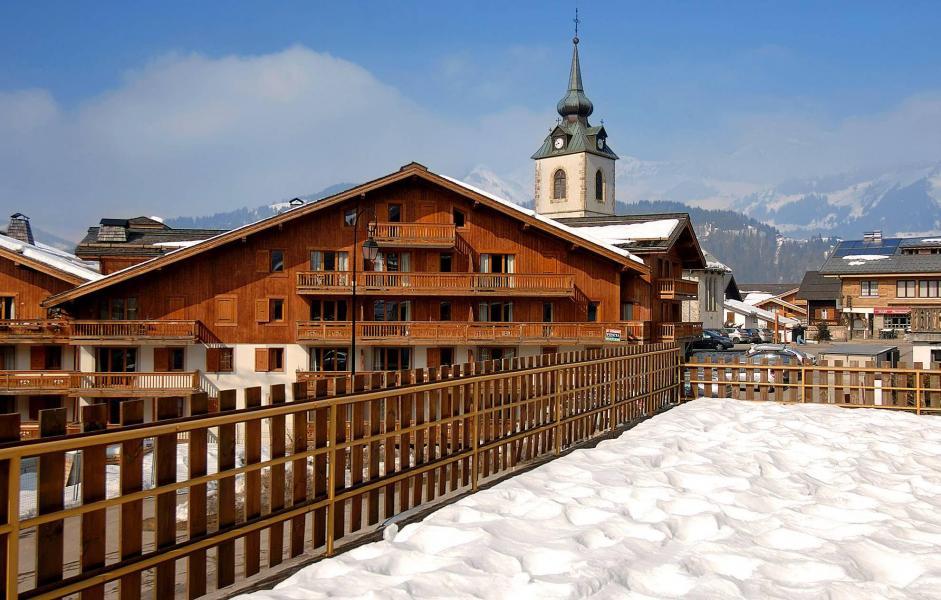 Vacances en montagne Résidence le Village - Notre Dame de Bellecombe - Extérieur hiver