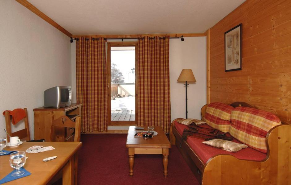 Аренда на лыжном курорте Résidence le Village - Notre Dame de Bellecombe - Сиденье банкетка