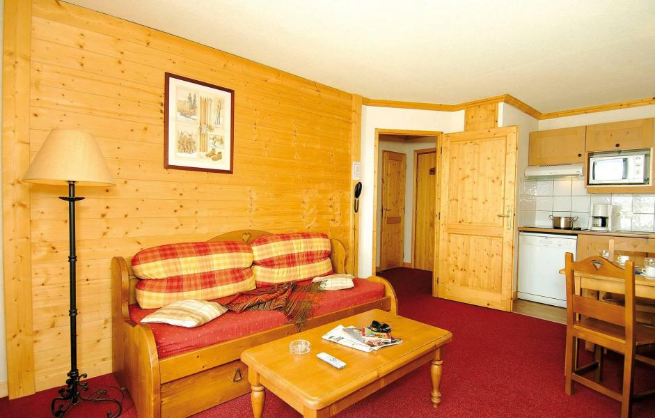 Аренда на лыжном курорте Résidence le Village - Notre Dame de Bellecombe - Салон