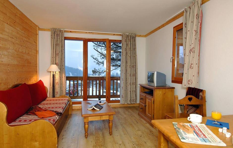 Аренда на лыжном курорте Résidence les Belles Roches - Notre Dame de Bellecombe - Сиденье банкетка