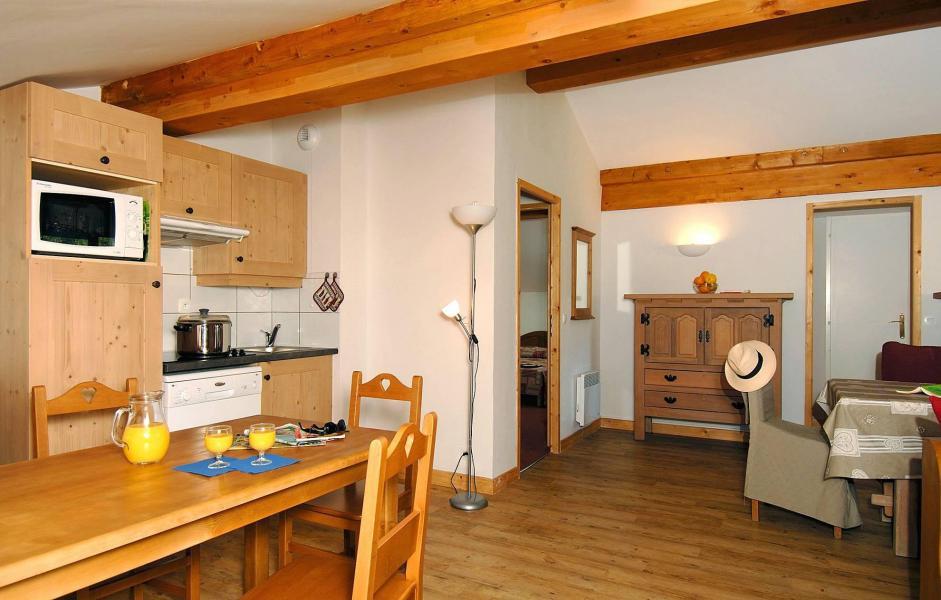 Location au ski Résidence les Belles Roches - Notre Dame de Bellecombe - Cuisine