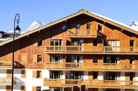 Location au ski La Residence Le Village - Notre Dame de Bellecombe - Extérieur hiver