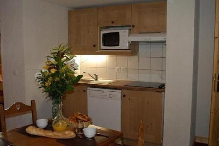 Location au ski La Residence Le Village - Notre Dame de Bellecombe - Kitchenette