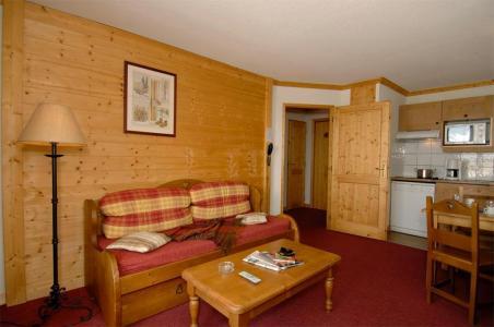 Аренда на лыжном курорте La Résidence le Village - Notre Dame de Bellecombe - Салон