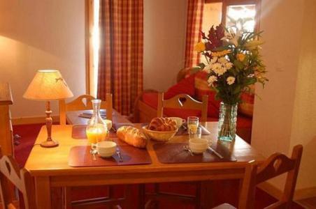 Location au ski La Residence Le Village - Notre Dame de Bellecombe - Coin repas