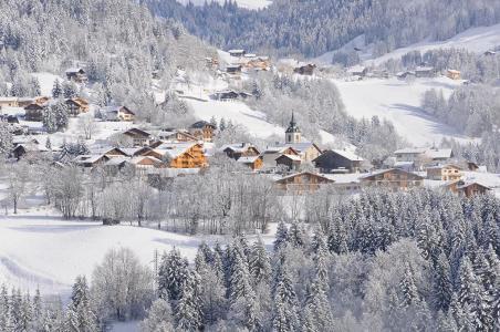 Vacances en montagne Résidence Belles Roches - Notre Dame de Bellecombe - Extérieur hiver
