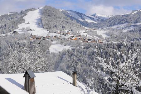 Location au ski Résidence Belles Roches - Notre Dame de Bellecombe - Extérieur hiver