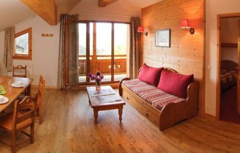 Location au ski Residence Belles Roches - Notre Dame de Bellecombe - Séjour