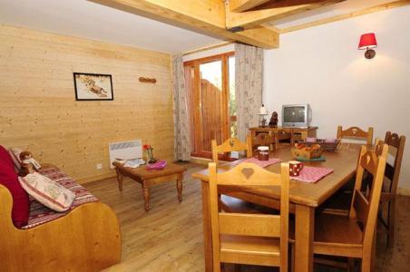 Location au ski Appartement 4 pièces 8 personnes - Residence Le Village - Notre Dame de Bellecombe - Coin repas