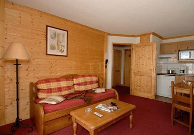 Location au ski Residence Le Village - Notre Dame de Bellecombe - Banquette