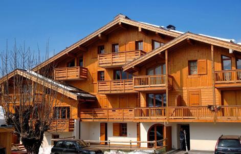 Location au ski Résidence les Belles Roches - Notre Dame de Bellecombe - Extérieur hiver