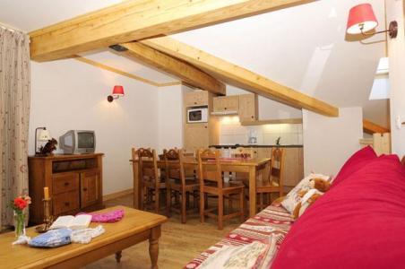 Location au ski Appartement 4 pièces 8 personnes - Residence Les Belles Roches - Notre Dame de Bellecombe - Séjour