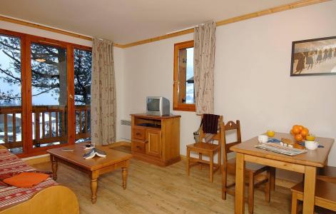 Location au ski Résidence les Belles Roches - Notre Dame de Bellecombe - Coin repas