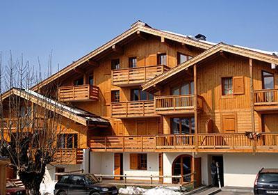Location au ski Residence Les Belles Roches - Notre Dame de Bellecombe - Extérieur hiver