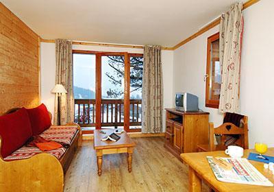 Location au ski Residence Les Belles Roches - Notre Dame de Bellecombe - Banquette
