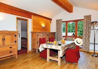 Location au ski Residence Les Belles Roches - Notre Dame de Bellecombe - Séjour