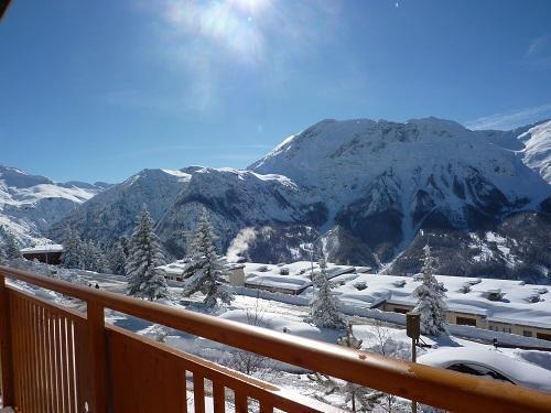 Location au ski Hotel Les Catrems - Orcières 1850 - Extérieur hiver