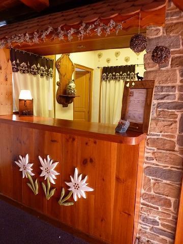 Location au ski Hotel Les Catrems - Orcières 1850 - Réception