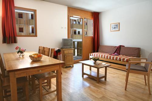 Location au ski Appartement 3 pièces 6-8 personnes - Residence Le Pra Palier - Orcières 1850 - Séjour