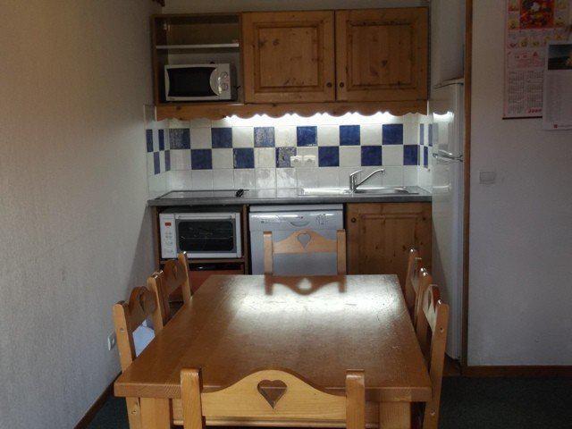 Location au ski Appartement 2 pièces cabine 6 personnes (404) - Residence Les Balcons Du Soleil - Orcières 1850 - Lits superposés