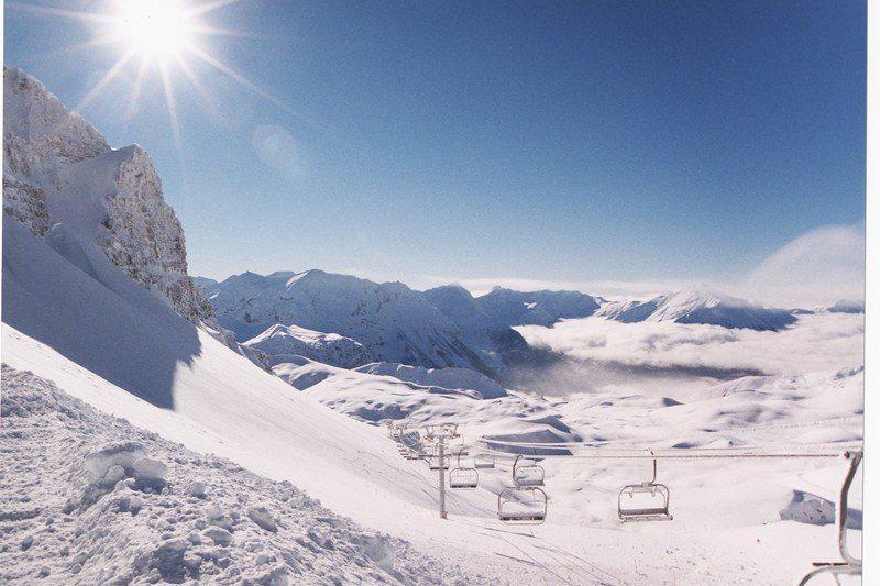 Location au ski Appartement 3 pièces 6 personnes (211) - Residence Les Balcons Du Soleil - Orcières 1850 - Canapé