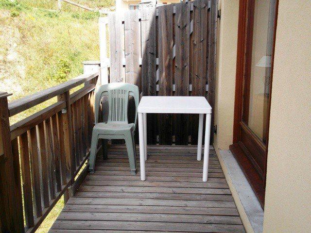 Location au ski Appartement 3 pièces 6 personnes (410) - Residence Les Balcons Du Soleil - Orcières 1850 - Loggia