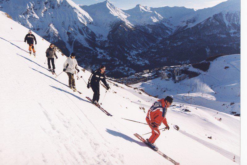 Location au ski Appartement duplex 2 pièces cabine 6 personnes (08) - Residence Les Balcons Du Soleil - Orcières 1850 - Canapé-lit