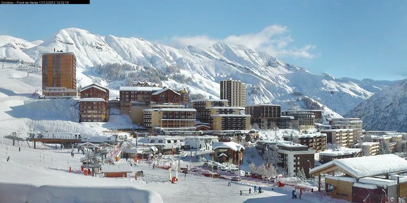 Location au ski Appartement duplex 2 pièces cabine 6 personnes (08) - Residence Les Balcons Du Soleil - Orcières 1850 - Séjour