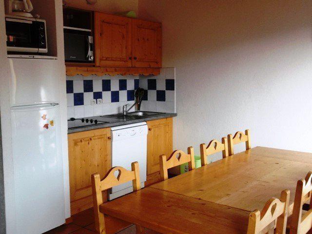 Location au ski Appartement duplex 4 pièces 8 personnes (509) - Residence Les Balcons Du Soleil - Orcières 1850 - Table