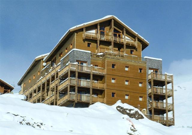 Location au ski Residence Les Balcons Du Soleil - Orcières 1850 - Extérieur hiver