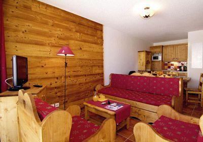 Location au ski Studio 4 personnes - Residence  Rochebrune - Orcières 1850 - Banquette