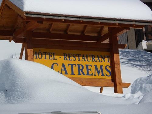 Location au ski Hotel Les Catrems - Orcières Merlette 1850 - Extérieur hiver