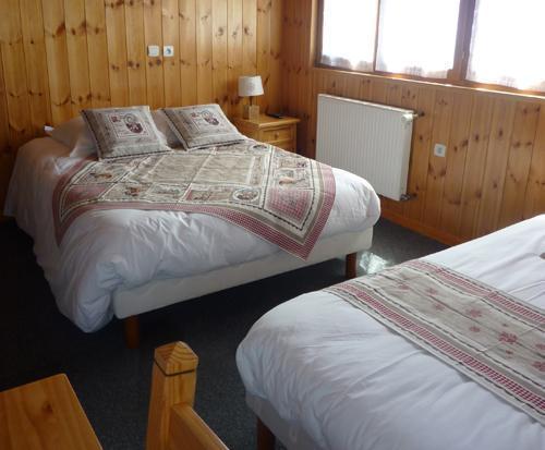 Location au ski Hotel Les Catrems - Orcières Merlette 1850 - Chambre