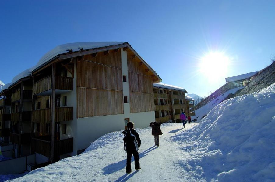 Location au ski Residence Le Pra Palier - Orcières Merlette 1850 - Extérieur hiver