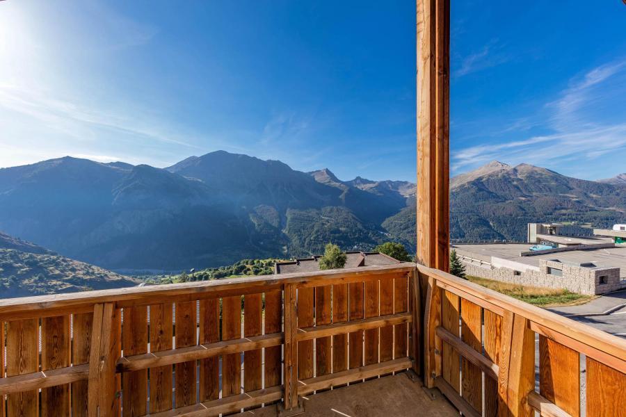 Location au ski Residence Le Pra Palier - Orcières Merlette 1850 - Balcon