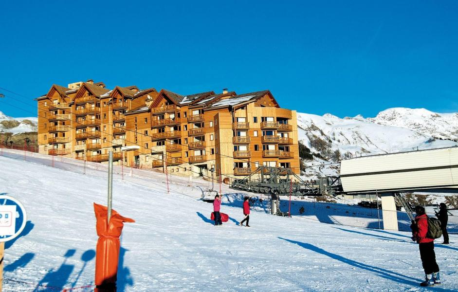 Location au ski Residence  Rochebrune - Orcières Merlette 1850 - Extérieur hiver