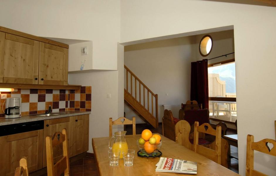 Location au ski Residence  Rochebrune - Orcières Merlette 1850 - Salle à manger