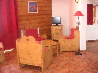 Location au ski La Residence Rochebrune - Orcières 1850 - Coin séjour