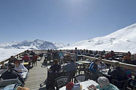 Location au ski La Residence Rochebrune - Orcières 1850 - Extérieur hiver