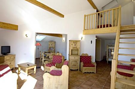 Location au ski La Residence Rochebrune - Orcières 1850 - Séjour