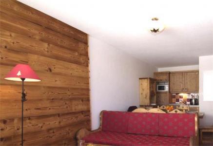 Location au ski Studio 4 personnes - La Residence Rochebrune - Orcières 1850 - Séjour
