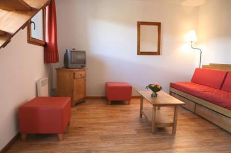 Location au ski Appartement 3 pièces coin montagne 8-10 personnes - Residence Le Pra Palier - Orcières 1850 - Coin séjour