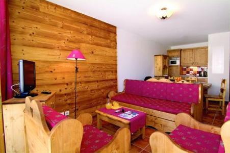 Location au ski Appartement 2 pièces 6 personnes - Residence  Rochebrune - Orcières 1850 - Coin séjour