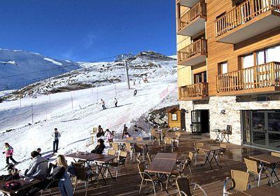 Location au ski Residence  Rochebrune - Orcières 1850 - Extérieur hiver