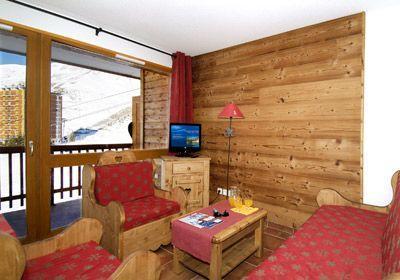 Location au ski Studio 4 personnes - Residence  Rochebrune - Orcières 1850 - Coin montagne